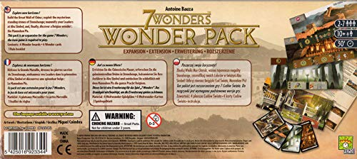 Asmodee 7 Wonders: Expansión de paquete Wonder