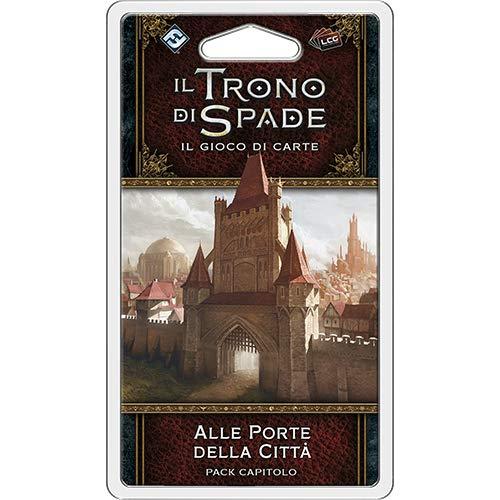 Asmodee Italia-Juego de Tronos LCG 2nd Ed. expansión a las puertas de la ciudad, color, 9244 , color/modelo surtido