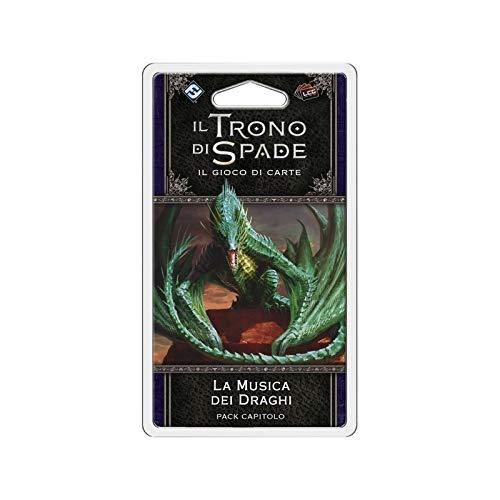 Asmodee Italia-Juego de Tronos LCG 2nd Ed. Expansión de la música de los dragones juego de mesa, color, 9240 , color/modelo surtido