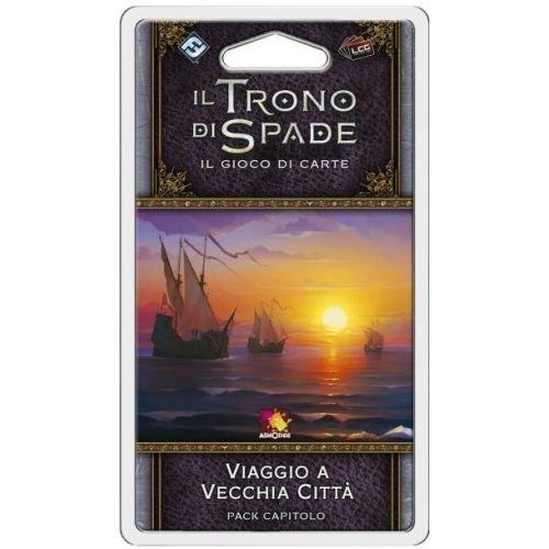 Asmodee Italia-Juego de Tronos LCG 2nd Ed. expansión de viaje a antigua ciudad, color, 9230 , color/modelo surtido
