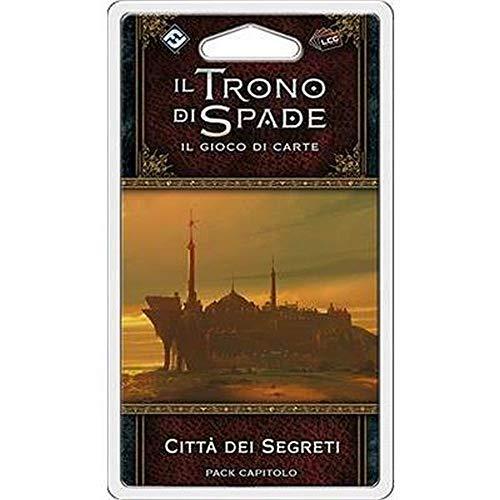 Asmodee Italia-Juego de Tronos LCG 2nd Ed. expansión La Ciudad de los secretos, juego de mesa, color, 9245 , color/modelo surtido