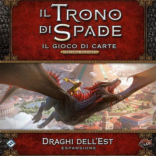 Asmodee Italia-Juego de Tronos LCG 2nd Ed. Juego de Mesa expansión Dragones del Este Edición íntegramente en Italia, Color, 9251
