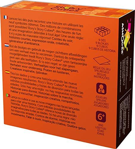 Asmodée- Juego de Mesa, Color Naranja (Edge Entertainment ASMRSC01ML1)