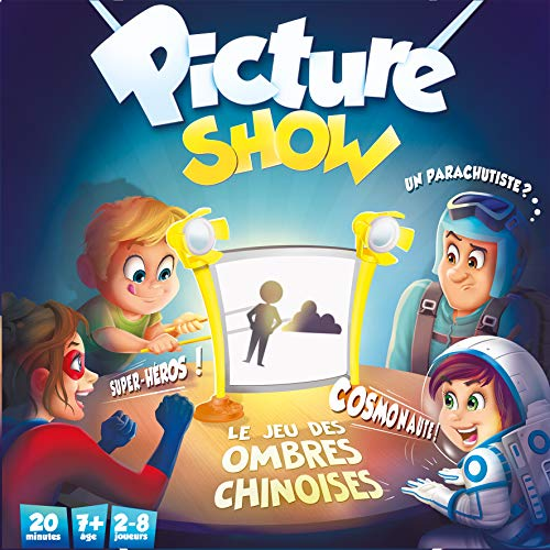 Asmodee- Picture Show, ZYGPIC01FR, Jeu Famille
