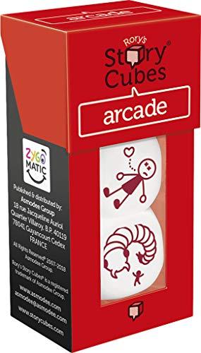Asmodee- Story Cubes: árcade - multilenguaje. (ASMRSC27ML1)