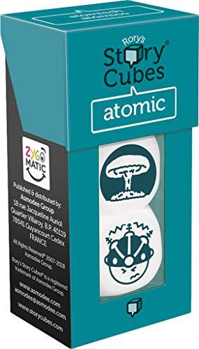 Asmodee- Story Cubes: atomico - multilenguaje. (ASMRSC25ML1)