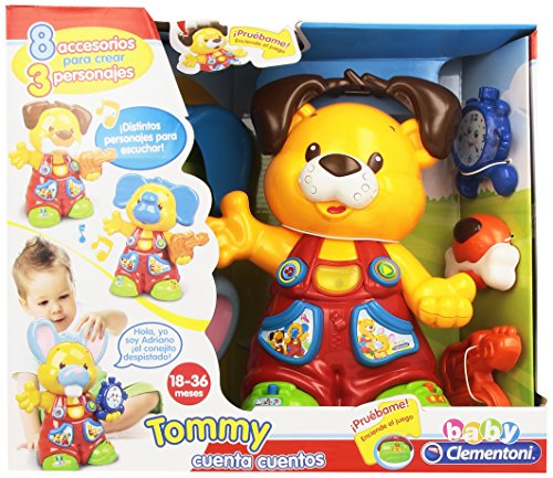 Baby Clementoni - Tommy Osito cuentacuentos (65638)