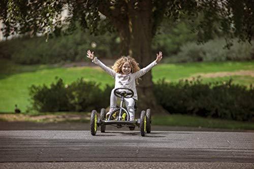 Berg Luftreifen und Freilauf Buddy Cross, Color Amarillo/Negro, Kinderspielzeug geeignet für Kinder im Alter Von 3-8 Jahren (24.20.65.00)