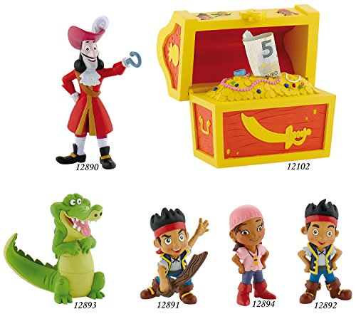 Bullyland - Figura Jake y los Piratas de Nunca jamás (B12893)