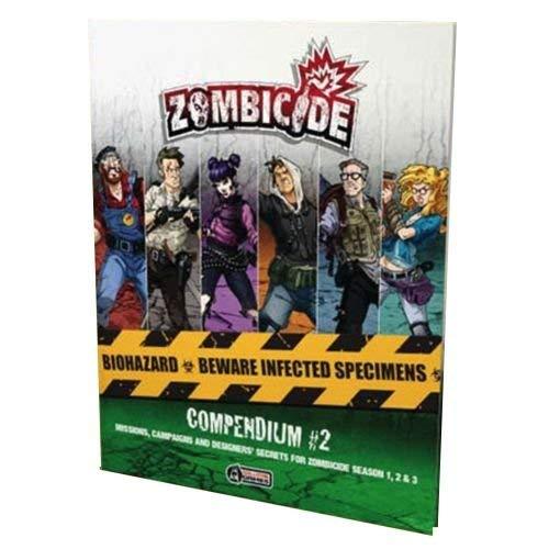 CoolMiniOrNot Inc GUG0091 Compendium 2: Zombicide, Multicolor