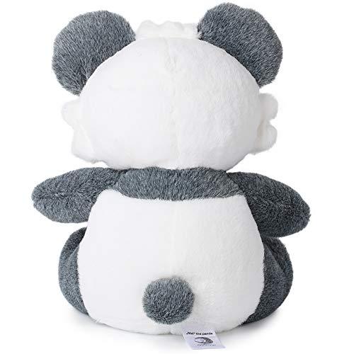 Corimori- Mei (6+ Modelos) Panda De Peluche Niños Juguete 26cm, Color azul, gris, blanco (1849)