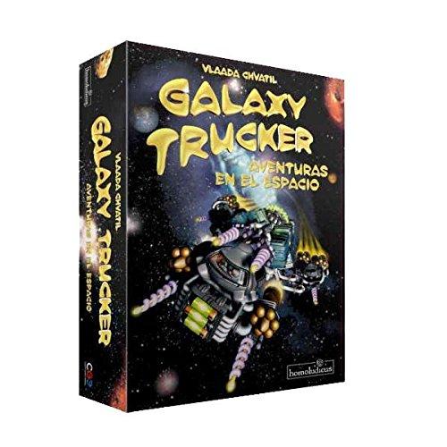 Devir- Juego de Mesa Galaxy Trucker, única (BGHTRUCKER)
