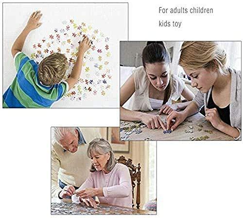DFRTY Juego de Rompecabezas para Adultos 1000 desafío de Cerebro de Templo Grande Tema de Rompecabezas para niños interacción de Conjunto de Rompecabezas Familiar