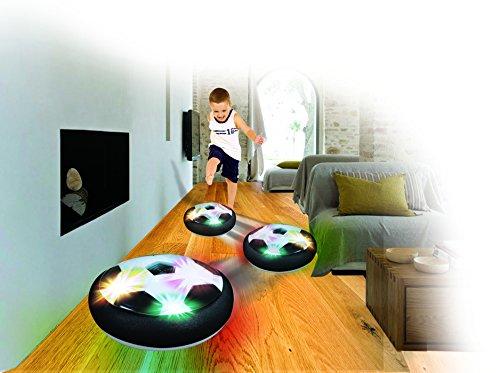 Direct TV Outlet Glyde Ball Visto en TV Balón de Fútbol Flotante con Luces LED Pelota de Espuma para Niños Jugar en Casa