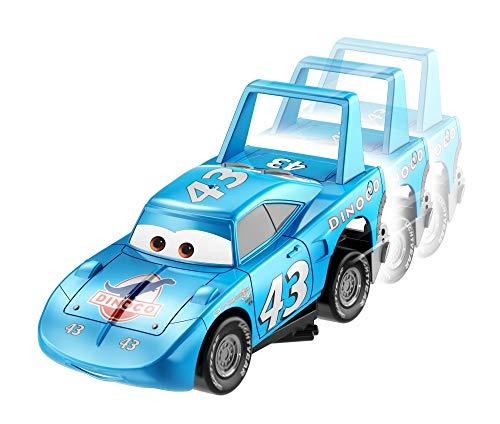 """Disney Cars Turbo Racers Vehículo Strip Weathers aka """"The King, coches de juguete niños +3 años (Mattel GFY55) , color/modelo surtido"""