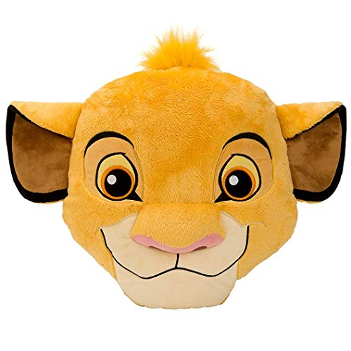 Disney Store Cojín Grande con Cara de Simba 37cm - El Rey León