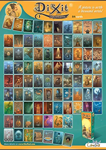 DIXIT Expansión - Todas las expansiones disponibles - Dixit Daydreams (DIX07ML)