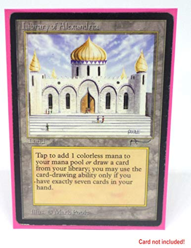 docsmagic.de 5 x 100 Double Mat Pink Card Sleeves Standard Size 66 x 91 - Rosa - Fundas - PKM MTG