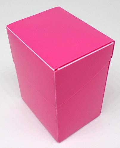 docsmagic.de 8 x Deck Box Full Pink + Card Divider - Caja Rosa - PKM YGO MTG