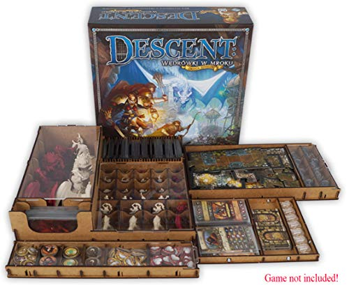 docsmagic.de Organizer Insert for Descent 2nd Edition Box - Encarte