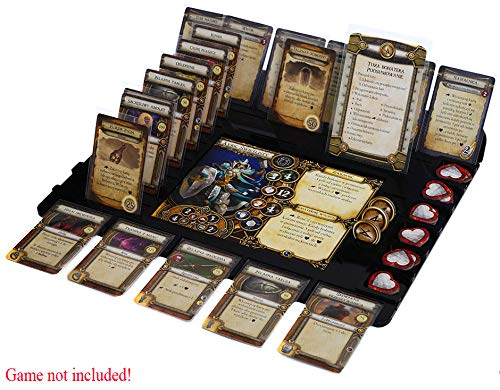 docsmagic.de Player Organizer for Descent 2nd Edition - Tablero de Jugadores