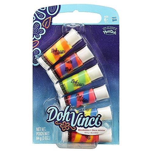 DohVinci - Pack de 6 Deco Pops (Hasbro B0006EU4)