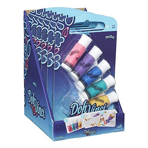 DohVinci - Pack de Tubos Deco Pop Brillantes (Hasbro B4932EU2)
