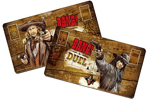 dV Giochi dvg9114–Bang. The Duel Player Mats–Accesorio para Juegos