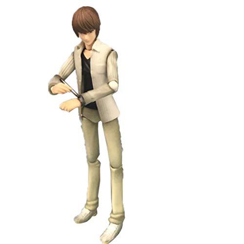 EASTVAPS Juguete Death Note Killer Kira Figma Night God Figura de acción Modelo de Juguete Decoración