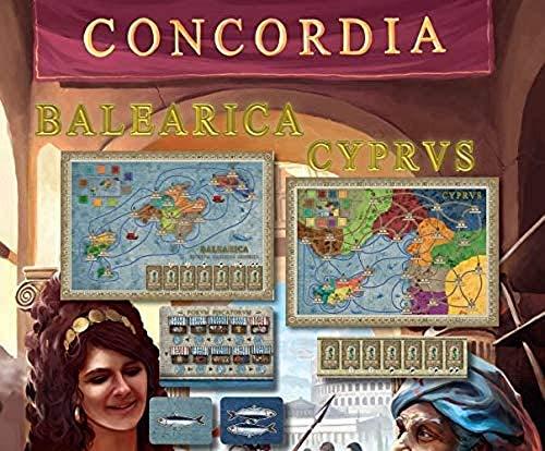 Ediciones MasQueoca - Concordia Expansion Balearica y Cyprus (Español)(Portugués)