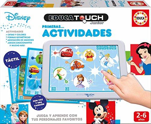 Educa - Touch Disney, Primeras Actividades, Juega y aprende con personajes Disney (17919)