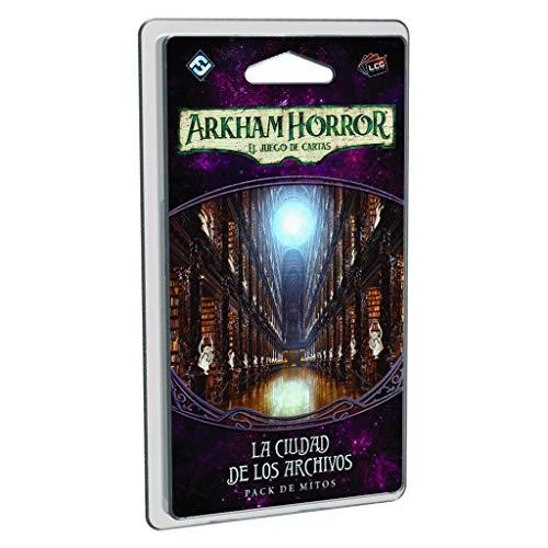 Fantasy Flight Games- Arkham Horror lcg: la Ciudad de los Archivos - español, Color (FFAHC23)