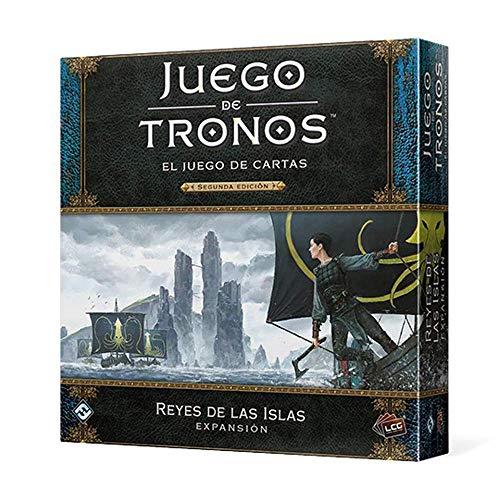 Fantasy Flight Games- Juego de Tronos LCG: Reyes de Las Islas - Español, Color (GT45ES)