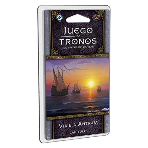 Fantasy Flight Games- Juego de tronos lcg: viaje a antigua - español, Color (FFGT24) , color/modelo surtido