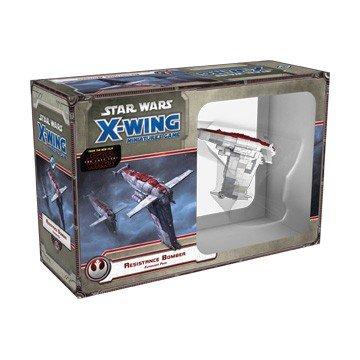 Fantasy Flight Games Star Wars X-Wing: Bombardero de la Resistencia-Español (FFSWX67)