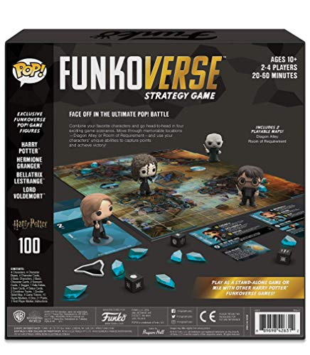 Funko Games Pop Funkoverse: Harry Potter-Base Set (English) Board Game (42631)
