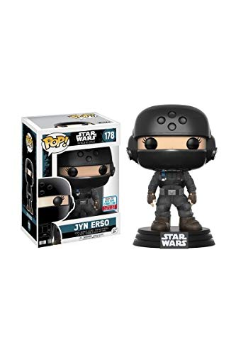 Funko Pop Figura de Vinilo Jyn ERSO con Casco Star Wars, Multicolor, 10 cm (20119)