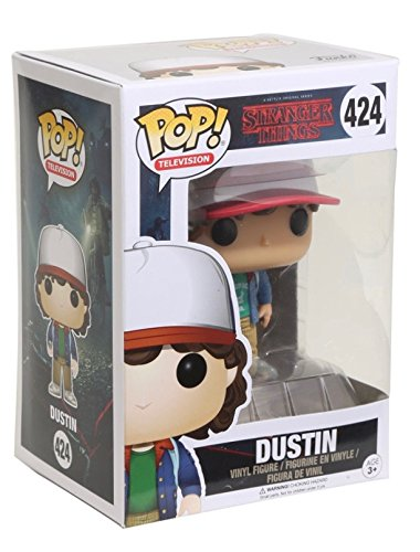 Funko - Pop! Vinilo Colección Stranger Things - Figura Dustin (13323)