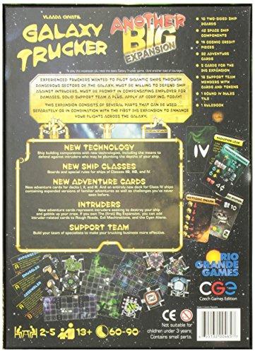 Galaxy Trucker: Another Big Expansion - Juego de Tablero (Rio Grande Games RGG465) (versión en inglés)