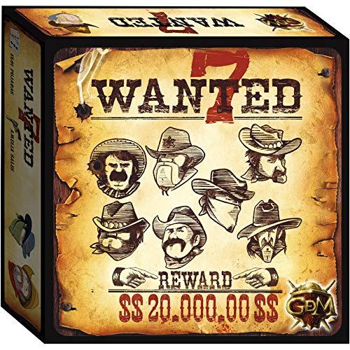 GDM Games (GDMG6) 7 Wanted - Gioco da Tavolo
