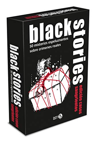 GENX Black Stories: Casos Sangrientos - Juego de Mesa [Castellano]