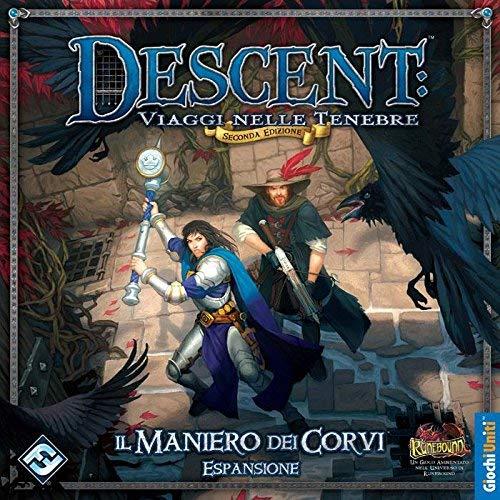 Giochi Uniti Juegos EE.UU. - El Pazo de los Ravens, de expansión para Descent