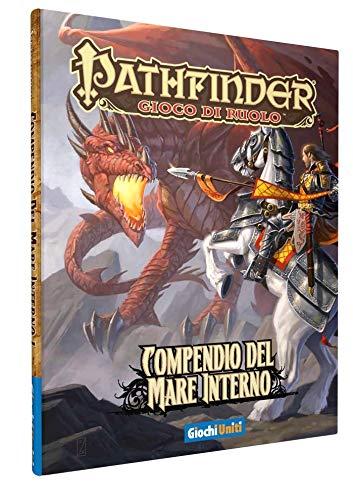 Giochi Uniti Pathfinder - Juego de rol Compendio del Mare Interno (guía del mar Interior) Illustrato