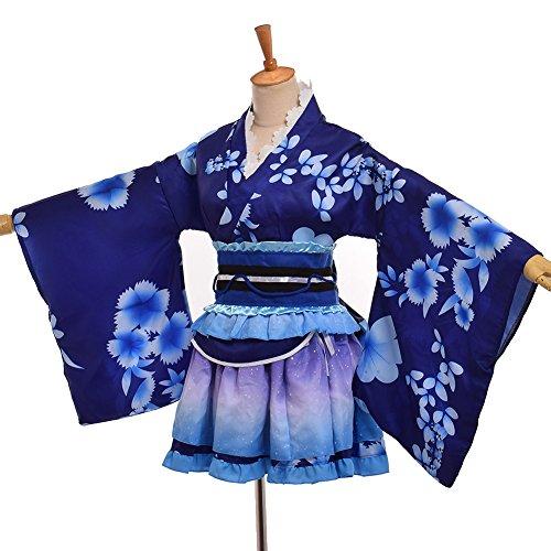 GRACEART Mujeres Albornoces de Las Pijamas (Azul)