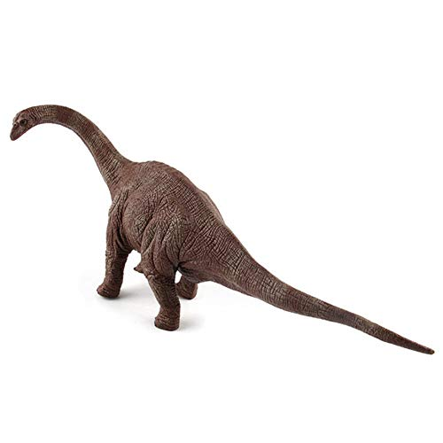 HFM Dinosaur Toys Jurassic Dinosaur World Brontosaurus Serie clásica Modelo de Dinosaurio para niños, niñas, cumpleaños, Navidad, Festival Regalos de recompensa,B