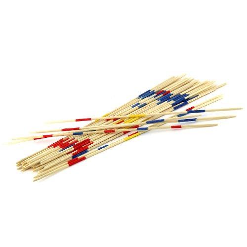 Idena 6060012–Mikado En Caja De Madera, Multicolor