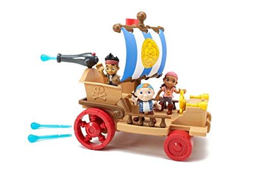 Jake y los Piratas - Set de Juego, Barco de Nunca Jamás (Mattel Y4599)