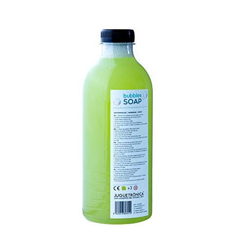 Juguetrónica - Líquido de pompas de jabón Bubble Soap XXL - 1 L