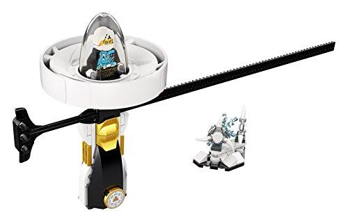 LEGO- Ninjago Zane: Maestro del Spinjitzu, Color blanco (70636)