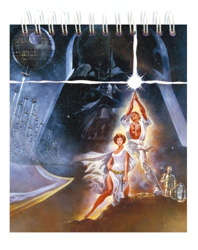 Libreta Musical Star Wars Espiral